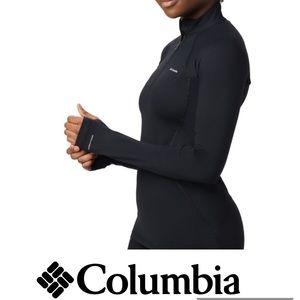 COLUMBIA baselayer black heavyweight Epais top LRG